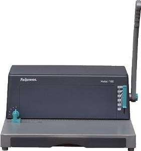 FELLOWES Encuadernadora Metal 100 Metalica 400x400x190 Cap.perforación 20 h 0030102