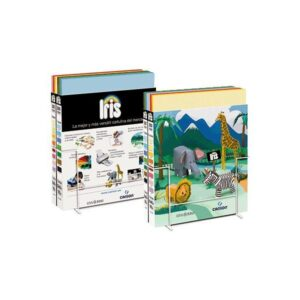 GUARRO CANSON Expositor cartulina IRIS 200 Hojas 50×65 cm 15 colores surtidos Caja B