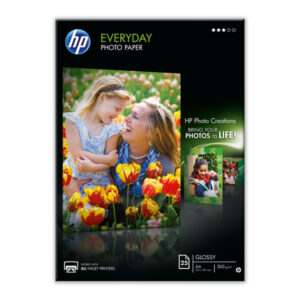 HEWLETT PACKARD Papel fotografico Paquete 25 hojas A4 200 G Semisatinado Q5451A