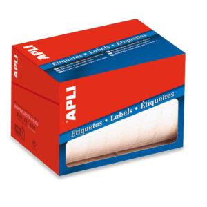 APLI Etiquetas en rollo 300 ud 53×100 Blancas 1704
