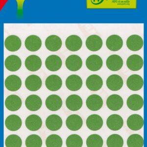 Bolsa 5 Hojas Etiquetas Color Verde 34×67 mm