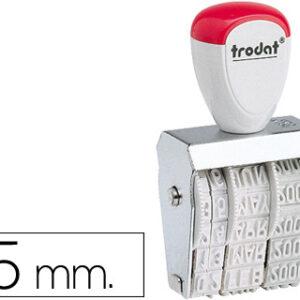 FECHADOR TRODAT 1020 DE 5 MM