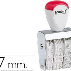 FECHADOR TRODAT 1030 DE 7 MM