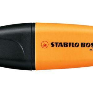 STABILO Marcador fluorescente naranja Boss. Trazo 2-5 mm. Punta biselada. 07/54