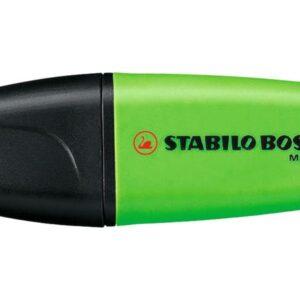 STABILO Marcador fluorescente Mini Tinta universal Verde 07/33