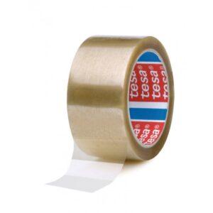 TESA Cinta embalaje  132mmX50m polipropileno Caucho Sintético