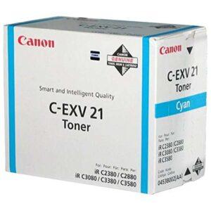 CANON Toner Láser CEXV21 Cyan  0453B002