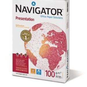 NAVIGATOR Presentation. Papel multifuncion 500h 100 g. A4