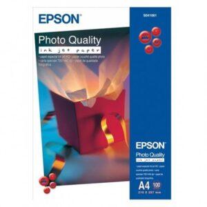 EPSON Papel fotografico S041061 Paquete 100 hojas A4 102 G Mate Papel especial HQ C13S041061