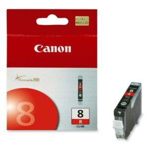 CANON Cartuchos Inyeccion CLI-8R Rojo  0626B001