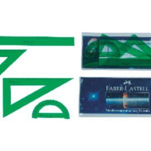 FABER CASTELL Regla Serie Técnica Juego surtido 65021
