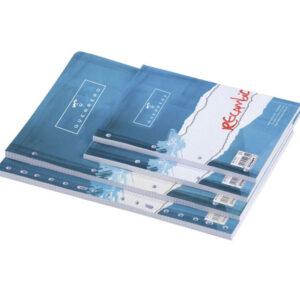 PAPYRUS Recambio de papel 100h Folio milimetrado 4 taladros 075738