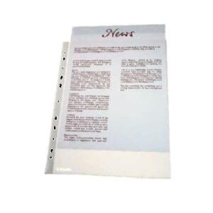 ESSELTE Fundas portadocumentos 100 ud Folio Multitaladro 46101