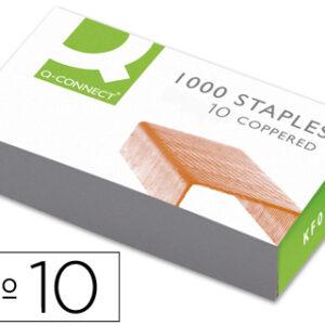 GRAPAS Q-CONNECT Nº 10 -CAJA DE 1000