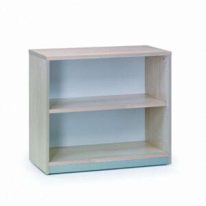 ROCADA Armario librería Serie Store fabricado en melamina 78x90x45cm Haya-haya