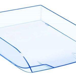 CEP Bandejas sobremesa Ice&Confort 273X370X63 Azul translucido Poliestireno Apilable 1014720741