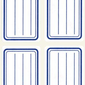 B.ESCOLAR AZUL 38X 50 MM.20 U. 10195