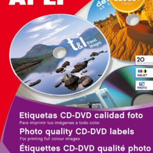 B.ETIQUETAS CD CALID. FOTO 10H 10603