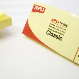PACK 3 BLOCS 100H NOTAS ADHESIVAS APLI 40×50 COLOR AMARILLO
