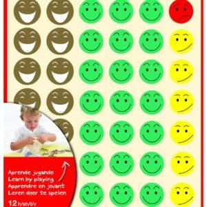 APLI Gomets Mr. Smiley Bolsa 12 Hojas 11680 11680