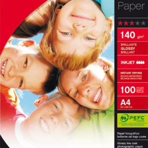 APLI Papel inkjet Best Price Paquete 100 hojas A4 140 g Brillo 11804 11804