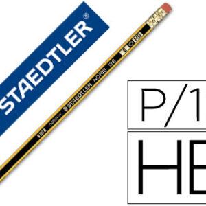 STAEDTLER Lapiz Noris 122 Madera HB Grafito
