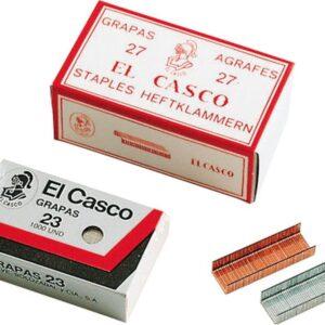 EL CASCO Grapas 1000 Ud 22/6 Galvanizada 22/6G 1G00221