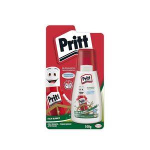 PRITT Pegamento  Cola blanca 40 gr Aplicador 2 en 1 La boquilla no se seca  PRITCO40