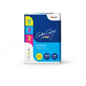 COLOR COPY Papel impresión Color Copy 250 Hojas A4 Blanco CCA4200