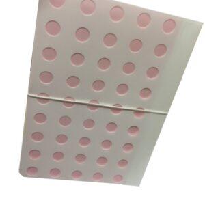 MILAN Carpeta acordeón con botón y 13 departamentos CIRCULOS