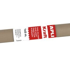 ROLLO PAPEL KRAFT 1 X 3 M. MARRON 13141