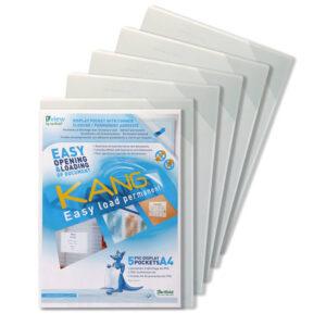 TARIFOLD Fundas adhesivas Kang Easy Load Pack 5 ud A4 194680