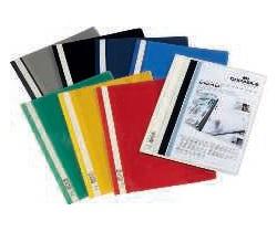 DURABLE Dossiers Duraplus A4 Fastener metalico Negro PVC 2579-01