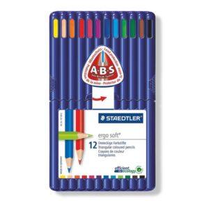 STAEDTLER Estuche lapices ergosoft Colores surtidos 12 Ud 157 SB12-I