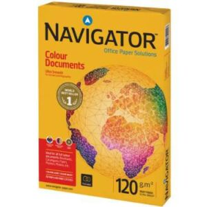 NAVIGATOR Colour Documents. Papel impresión color Paquete 250h 120 g. A4