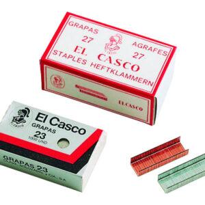 EL CASCO Grapas 1000 Ud 23 23/6 Galvanizada 26/6G 1G00231