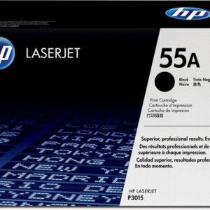 HEWLETT PACKARD Toner Laser 55A Negro 6.000 pg  CE255A