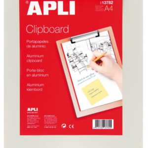 APLI CLIPBOARD BASE ALUMINIO A4 13782