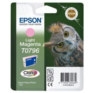 EPSON Cartuchos Inyeccion T0796 Magenta Claro C13T07964010