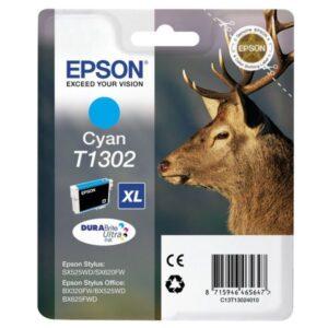 EPSON Cartuchos Inyeccion T1302 Cyan C13T13024012