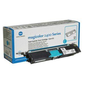 KONICA MINOLTA Toner Laser  Cyan Comp.Magicolor 2400 series 4.500pg  A00W332