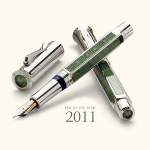 """GRAF VON FABER-CASTELL ESTILOGRAFICA EDICION ESPECIAL 2011 DE JADE RUSO """"F"""""""