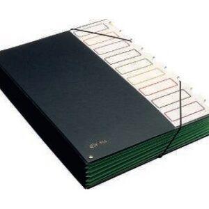 PARDO Carpeta clasificadora 9 departamentos Folio Con Fuelle Pvc 850