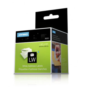 DYMO Rollos de etiquetas Identificador personal 220u 101×54 Blanco con adhesivo