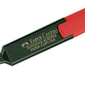 FABER CASTELL Marcador Fluorescente TEXTLINER Rojo 154821