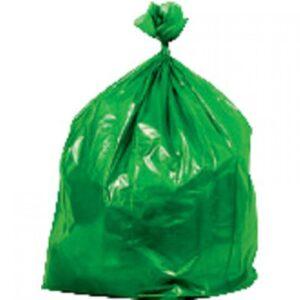 BUGA Bolsas de basura Paquete 15 ud 550X600 Verde ecopino 15760