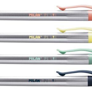 MILAN Bolígrafo P1 SILVER surtidos tinta azul