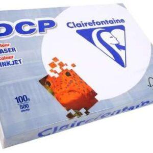 CLAIREFONTAINE Papel impresión Laser Color 500h 100 g. A3 1822C