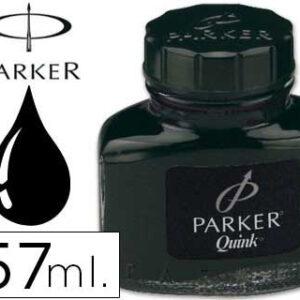 TINTERO PARKER NEGRO QUINK PERMANENTE 57 ml
