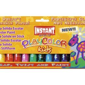 PLAYCOLOR Tempera Solida 10 Gr Colores surtidos 12 Ud 10731